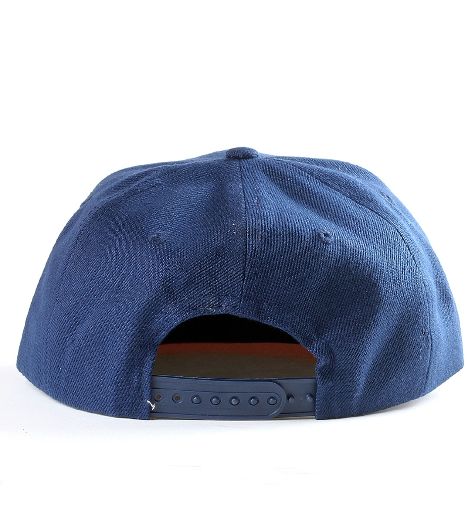 MELVIN SNAP BACK - NAVY/RED