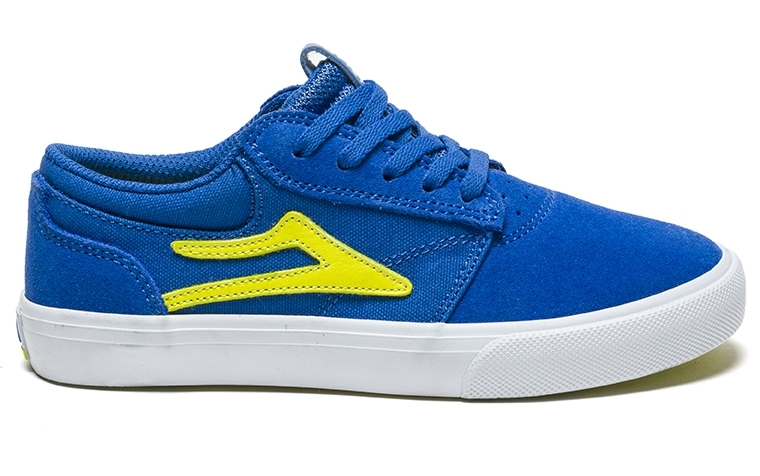 GRIFFIN KIDS - BLUE YELLOW SUEDE