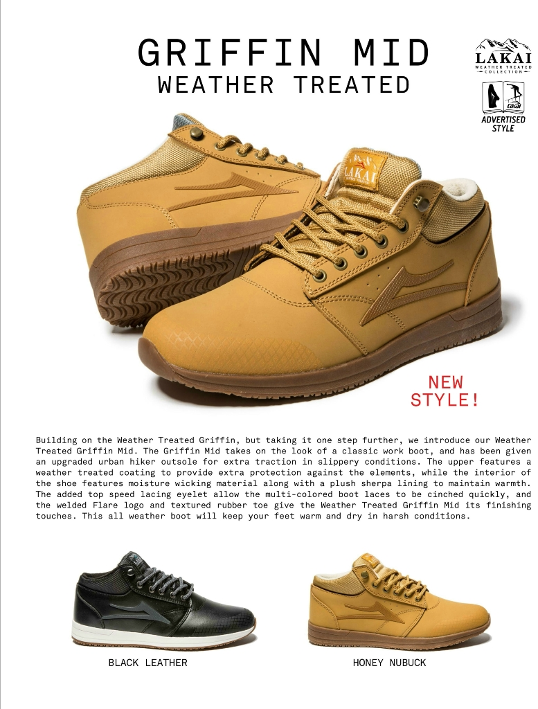 GRIFFIN MID WNTR - Honey Nubuck