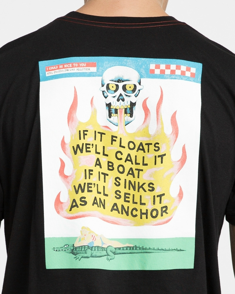IF IT FLOATS - PIRATE BLACK