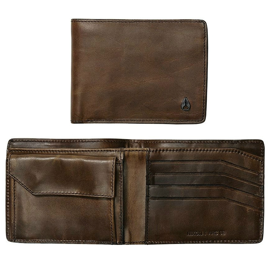 Arc SE Bi-Fold Wallet - Dark Olive