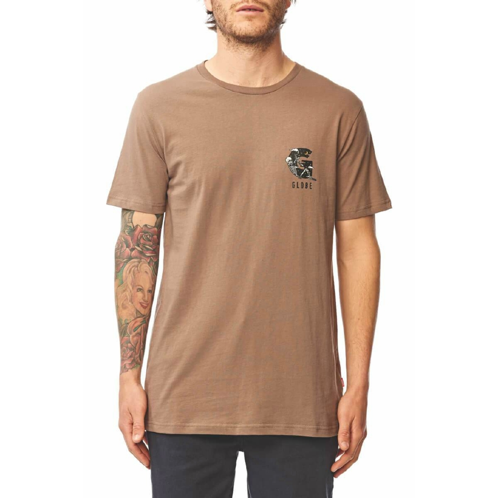 Hazed Tee - Walnut
