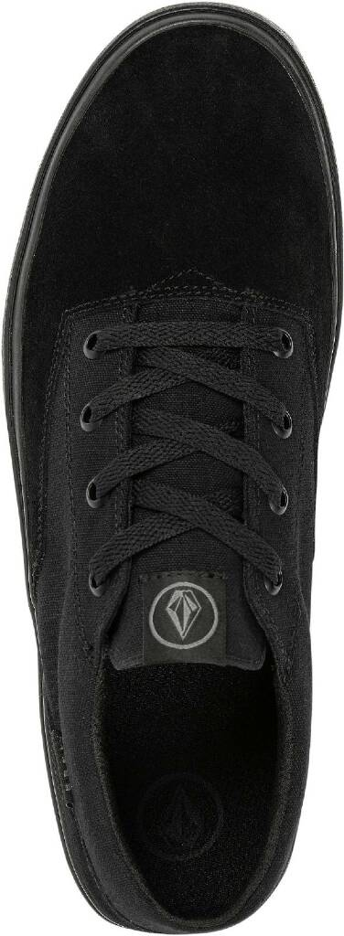 DRAW LO SUEDE SHOE - BLACKITY BLACK