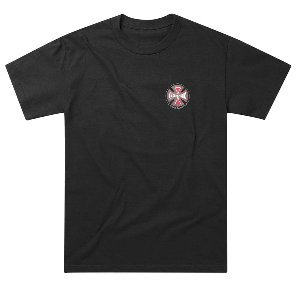 INDY SS TEE - BLACK