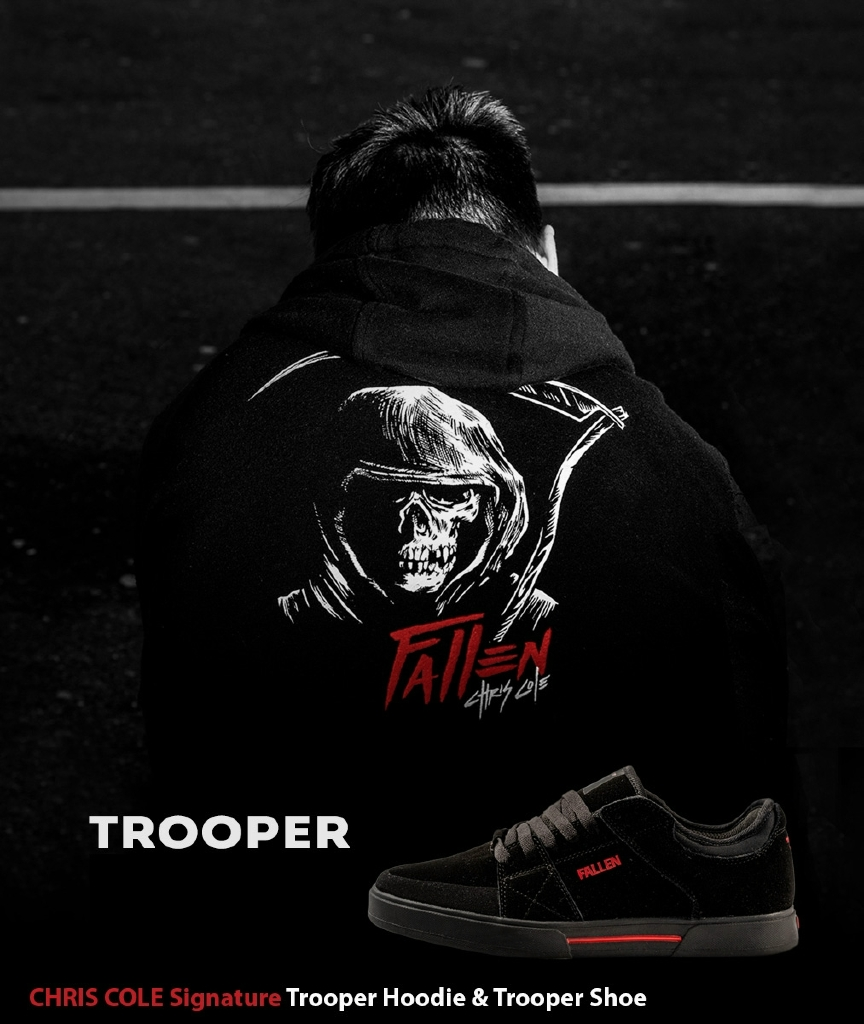 Trooper - Chris Cole Black/Black/Red