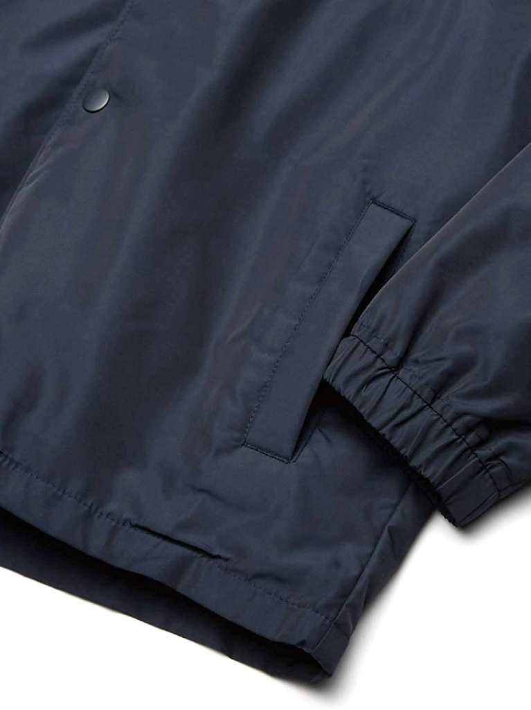 VA HOOD COACH JACKET - NEW NAVY