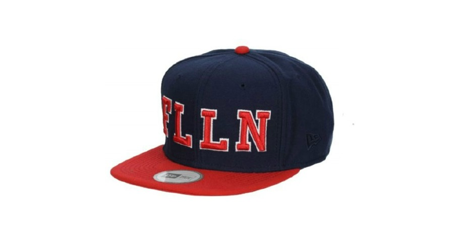 Forge New Era Snapback Hat - Midnight Blue/Blood Red
