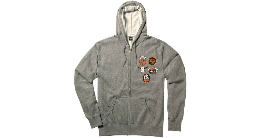 Parker Hood - Heather Grey