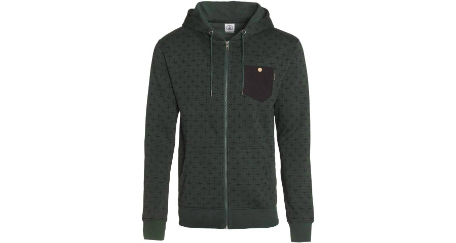 CROSS ZIP FLEECE - JNG