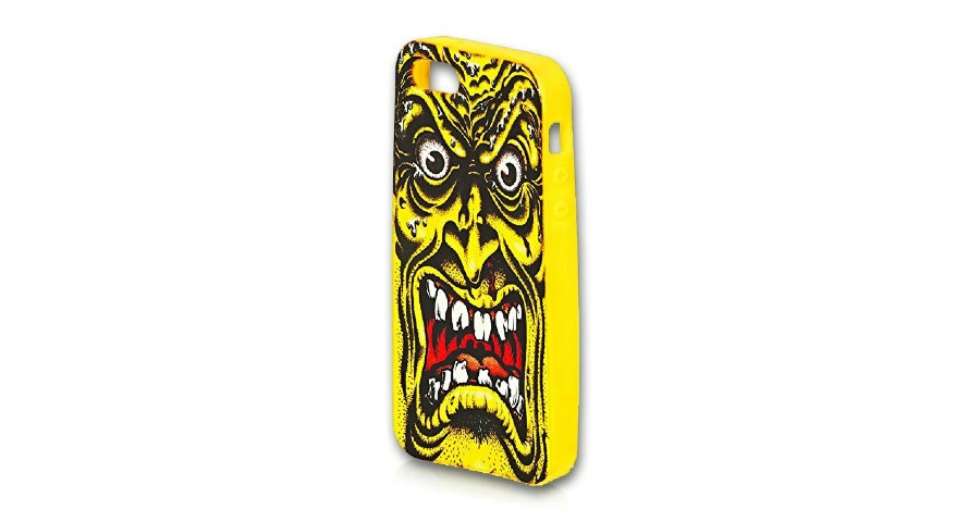 Rob Face IPhone 5 Cover - Yellow