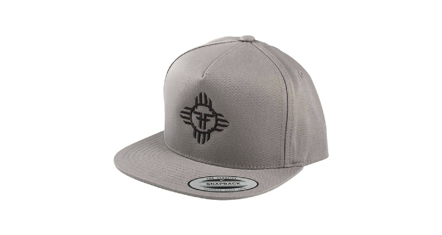 Apache Snapback - Cement Grey/Black