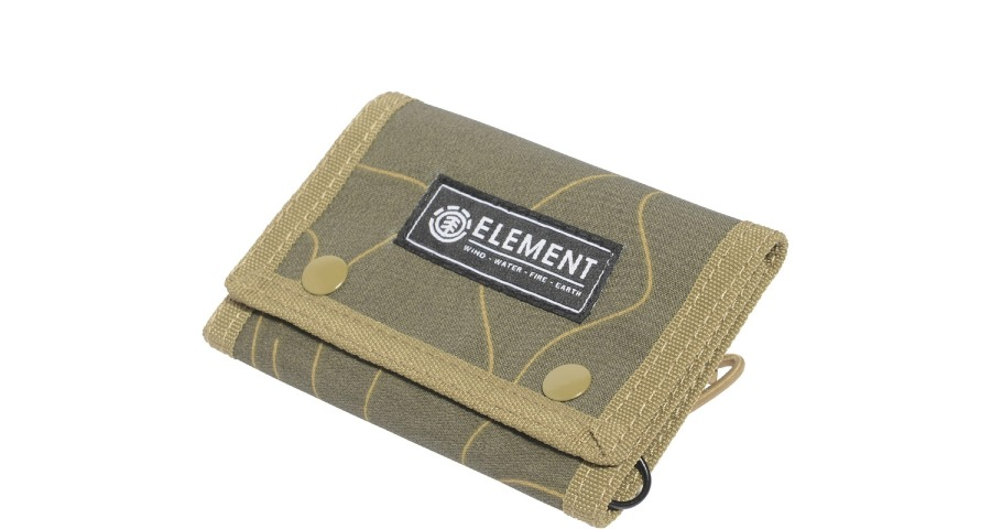 CARRIS WALLET - MILITARY GREEN