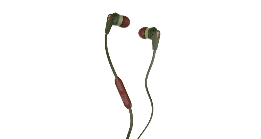 INKD 2.0 IN-EAR - OLIVE/BURGUNDY/SAGE  w/Mic