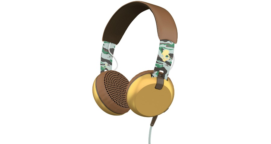 GRIND On-Ear - SCOUT CAMO/BROWN/GOLD w/Taptech