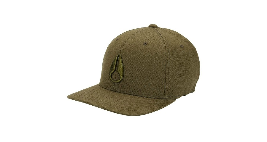 DEEP DOWN FF ATHLETIC FIT HAT - OLIVE