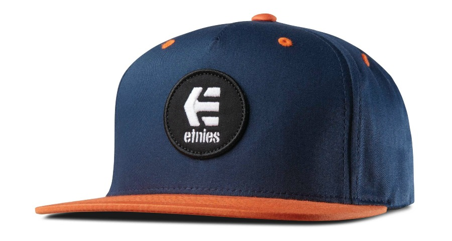 ROOK SNAPBACK HAT - NAVY/ORANGE