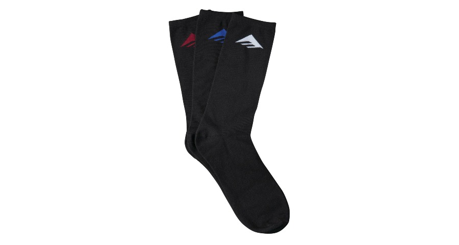 PURE SOCK (3 PACK) - ASSORTED