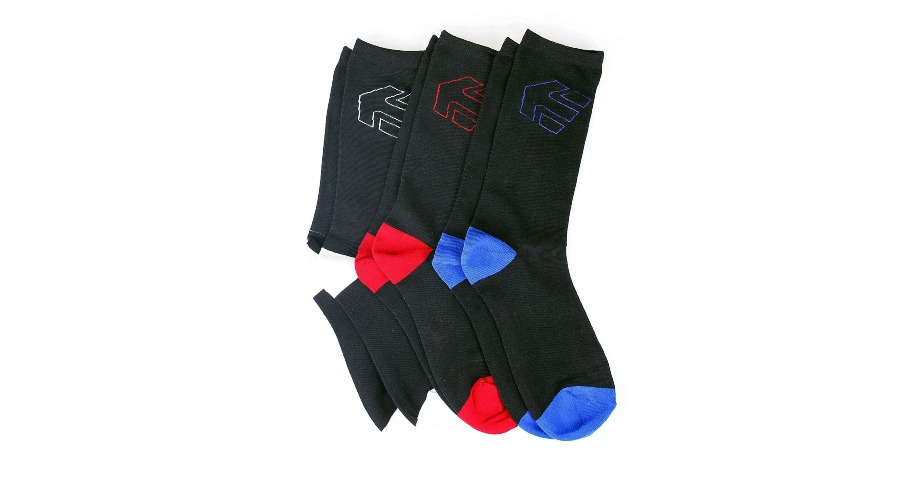 LEGACY SOCK (3 PACK) - BLACK