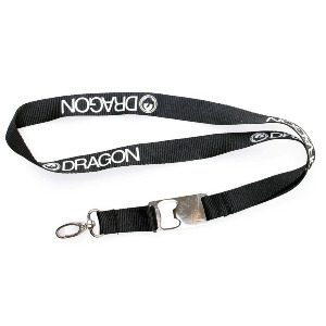 Dragon Lanyard - Black