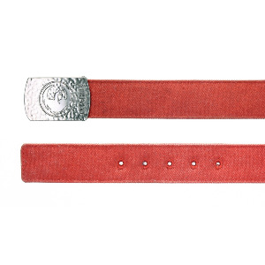 Revelry Web Belt - Red