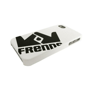 Iphone 4 Case Big Logo - White