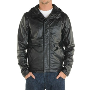 Faux Real Jacket - Blk