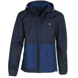 SLANGO COLORBLOCK WINDBREAKER - NAVY