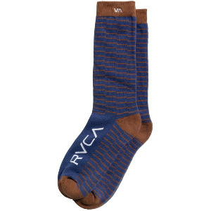 MAKESHIFT SOCK - BROWN/BLUE