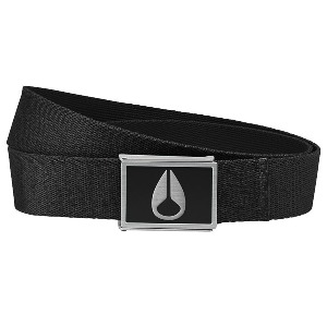 ENAMEL WINGS BELT - BLACK