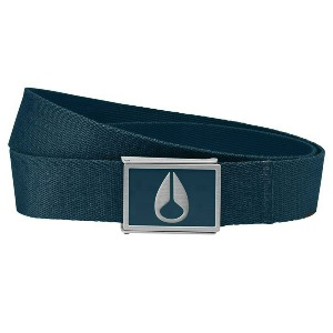 ENAMEL WINGS BELT - NAVY