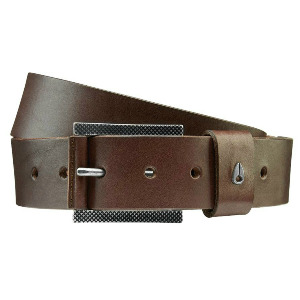 AMERICANA BELT II - DARK BROWN