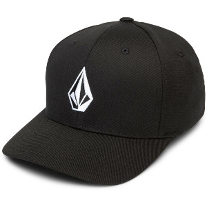 FULL STONE XFIT CAP - BLACK