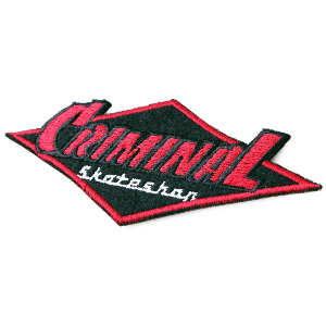 Criminal Logo Patch 4.1/2