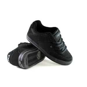 205 Vulc Kids - All Black/Dark Gull