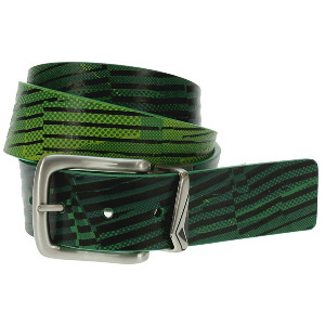 Melting Pot Rev PU Belt - Grn
