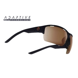 ENDURO X - MATTE BLACK/COPPER + CLEAR LENS
