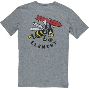 BUMBLE SS - GREY HEATHER