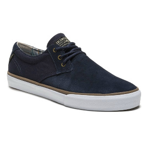 DALY - NAVY SUEDE