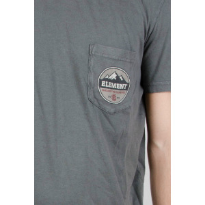 ENDURE PATCH SS - CHARCOAL