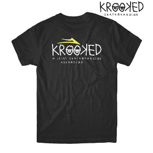 KROOKED TEE - BLACK
