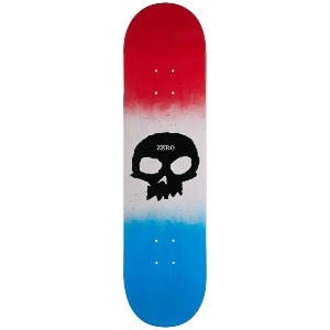 Single Skull - Red/Bone/Blue