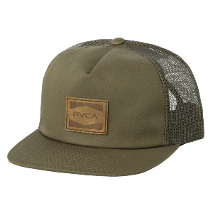 WASHBURN TRUCKER HAT - BURNT OLIVE