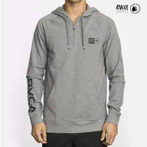 BJ VA SPORT HOOD - ATHLETIC HEATHE