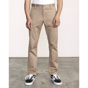 WEEKEND STRETCH PANT - DARK KHAKI