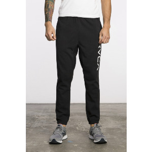 BIG RVCA SWEAT PANT - BLACK