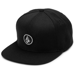 QUARTER TWILL CAP - BLACK
