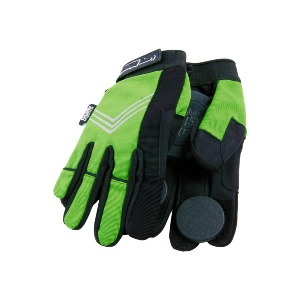 Curly Glove - Green