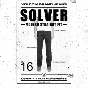 SOLVER DENIM - SEVENTIES INDIGO