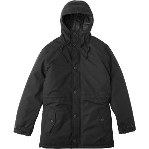 NO BOUNDARIES PARKA - BLACK