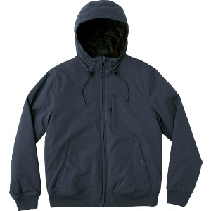 HOODED BOMBER - FEDERAL BLUE